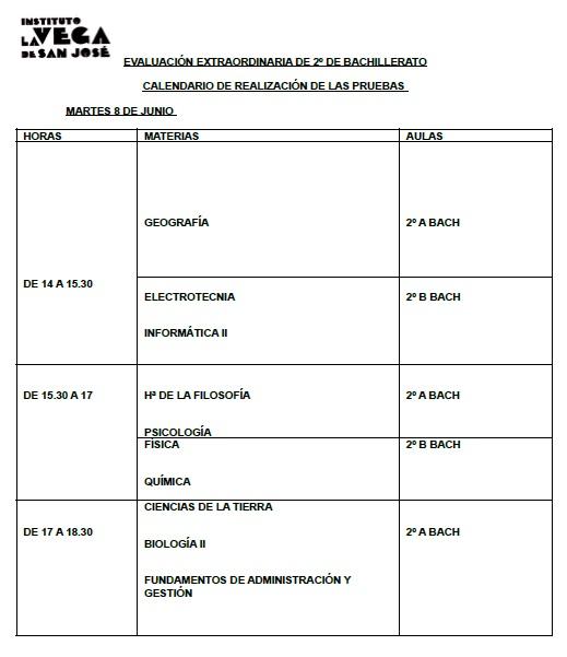 CALENDARIO DE EVALUACIÓN EXTRAORDINARIA 2º BACH- CURSO 2020-21 (1)